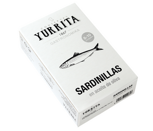 """Sardinillas"" Sardines in Olive Oil [120g Can]"