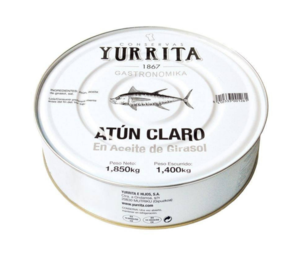 """Atun Claro"" Yellowfin Tuna in Sunflower Oil [1850g Can] - ARC IBERICO IMPORTS"