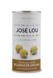 Jose Lou Manzanilla Olives Stuffed With Anchovies (600g) - ARC IBERICO IMPORTS