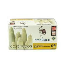 White Asparagus in Brine 6/9(850ml) - ARC IBERICO IMPORTS