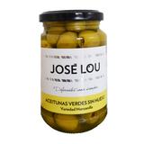 Jose Lou Unpitted Green Olives Manzanilla