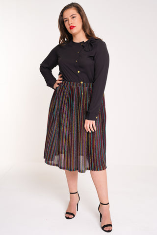 3d1f6b6a127 UNIQUE21 HERO Pleated Midi Skirt
