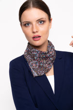 Printed Handkerchief Style Scarf