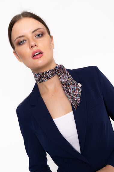 Printed Neck Tie Scarf