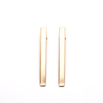 Pack of 2 Hair Snap In Gold Tone
