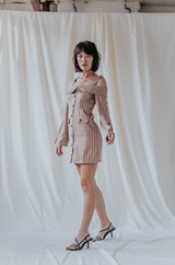 Tailored Bardot Dress