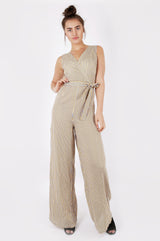 Stripe Wide Leg Jumpsuit