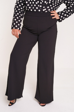 UNIQUE21 HERO Black Wide Leg Trouser