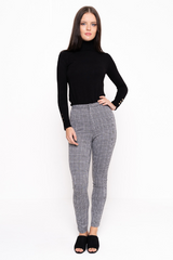 High Waist Checked Legging