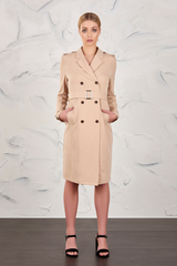 RACHEL TAN TRENCH COAT