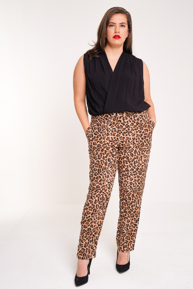 UNIQUE21 HERO Leopard Print Trousers