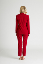 Tailored Red Blazer