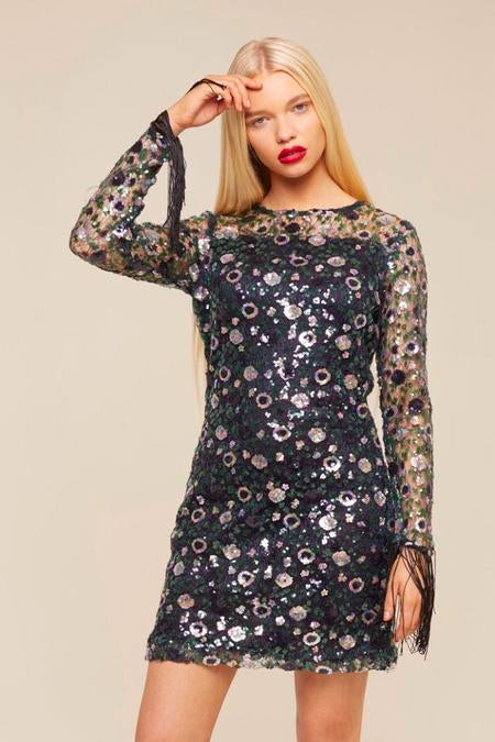 FLORA SEQUIN DRESS
