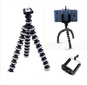 Tripod Wireless Bluetooth Timer Remote Shutter Button for Cell Phones