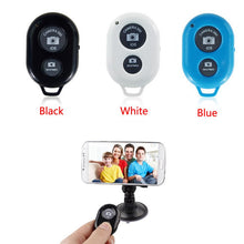 Load image into Gallery viewer, Tripod Wireless Bluetooth Timer Remote Shutter Button for Cell Phones