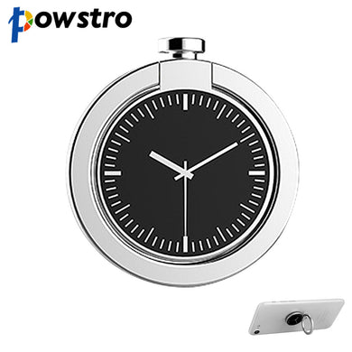Powstro Finger Ring Smartphone Stand Holder Watch Style Finger Ring