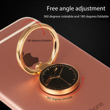 Load image into Gallery viewer, Powstro Finger Ring Smartphone Stand Holder Watch Style Finger Ring