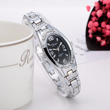 Load image into Gallery viewer, Women's Rose-Gold Plated Elegant Rhinestone Bracelet Fashion Watches