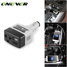 Load image into Gallery viewer, Onever 140W Car Auto Power Inverter 12v 220v ...
