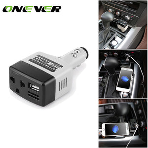 Onever 140W Car Auto Power Inverter 12v 220v ...