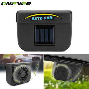 Universal Car Ventilator, Solar Powered Car Window Fan & Air Vent