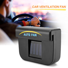 Load image into Gallery viewer, Universal Car Ventilator, Solar Powered Car Window Fan & Air Vent