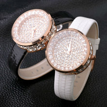 Load image into Gallery viewer, Luxury Bling Wrist Watch Fashion Diamond:  Ladies / Women's Watches Women's