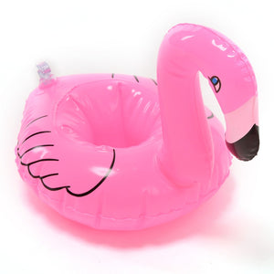 Inflatable Flamingo Drink / Cell Phone Holder