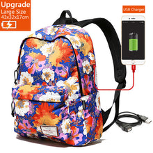 Load image into Gallery viewer, Large Capacity for 15.6 Inch Laptop Backpack + USB Charger – Waterproof