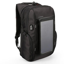 Load image into Gallery viewer, Mini 15.6 Inch SOLAR Charging, Anti Theft Backpack with USB Charging Capabilities