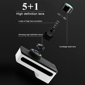 Professional 360 Degree Panoramic Dual Lenses