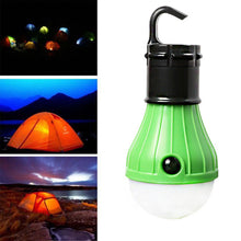 Load image into Gallery viewer, Portable LED Lantern Tent Light Bulb for Camping Hiking Fishing Emergency Battery Powered Light