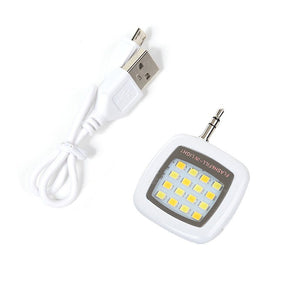 TURATA Mini Smartphone Portable LED Flash Fill Light 16 Lens