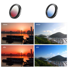 Load image into Gallery viewer, ZOMEI Universal 37mm Clip-On Graduated Gray Filters