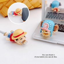Load image into Gallery viewer, One Piece Kawaii Cable Chomper Protectors