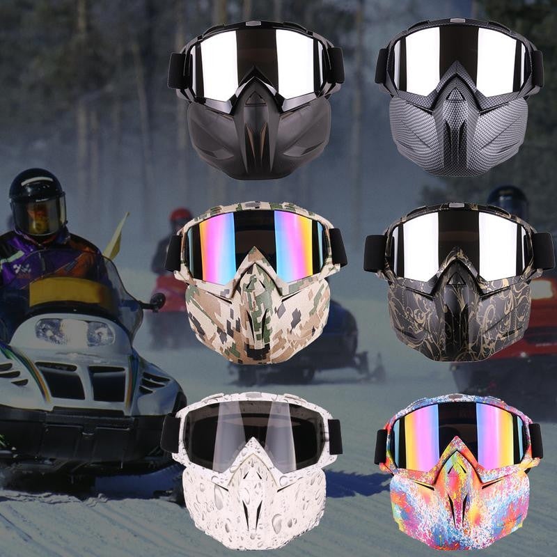 Upgrade Motorcycle Goggles Mask Accessory Halley Goggles Off-road Goggles Skiing Goggles Mask