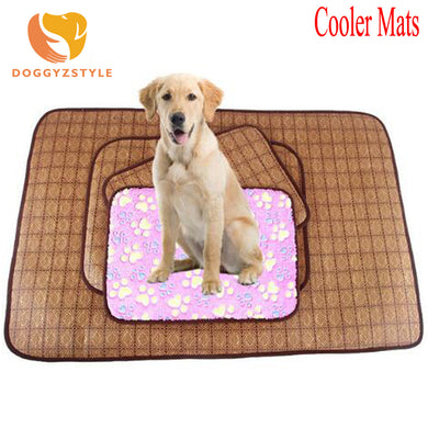 Pet  Cooler Mat / Pad; Double Blanket For Small Pets;  Sleeping Pads Cushion Accessories ALL sizes