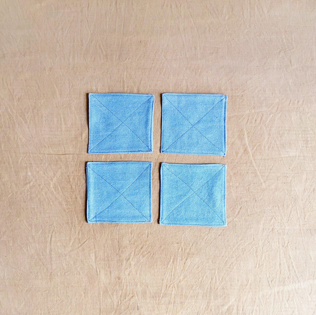 Denim Coaster Set of 4