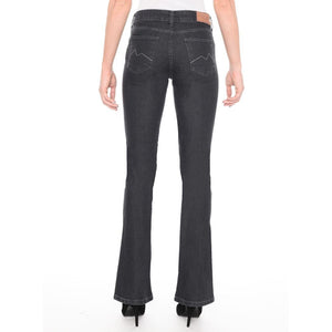 CALÇA JEANS MINI BOOT C3 BLACK DENIM