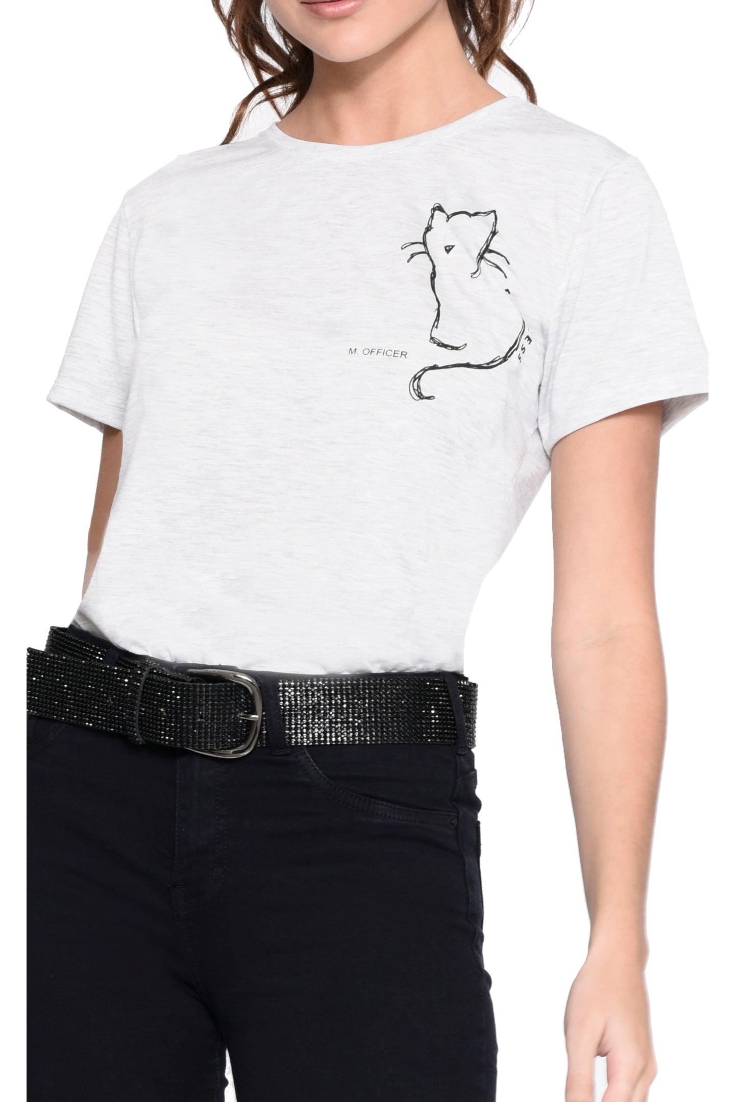 T-SHIRT  BASIC  M/C SILK  GATO