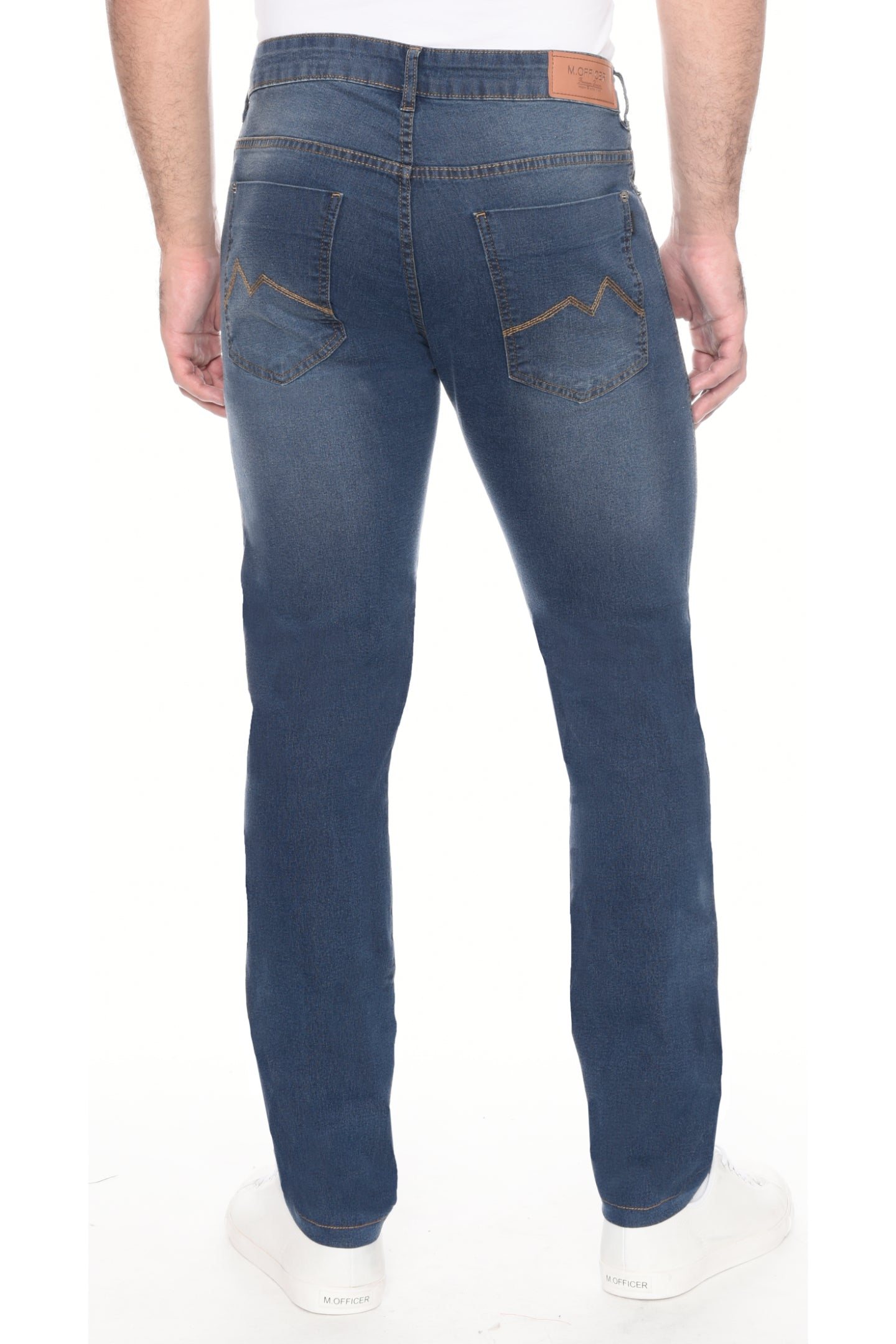 CALÇA JEANS SLIM FIT DARK BLUE