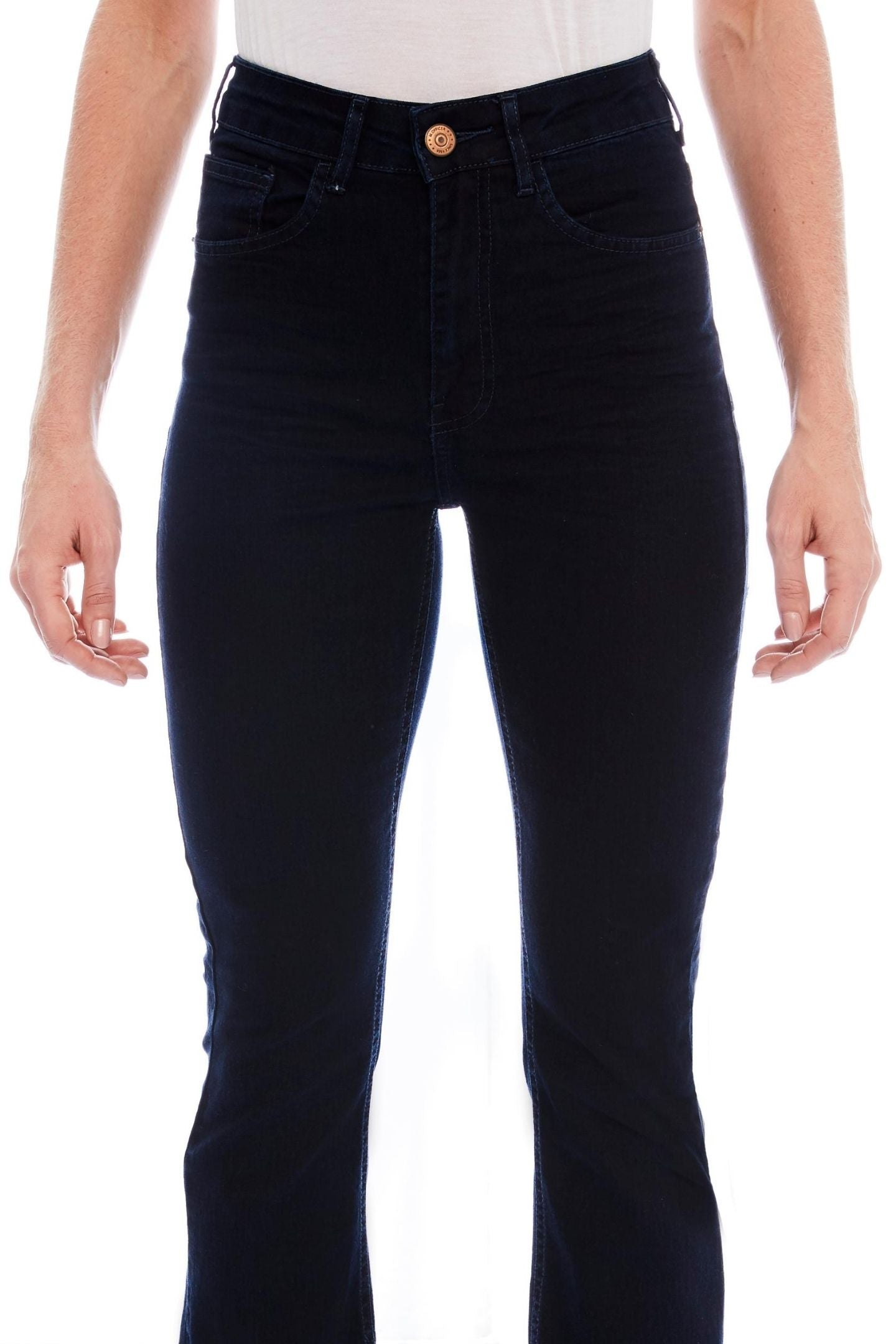 CALÇA JEANS CURVES BOOT CUT C4