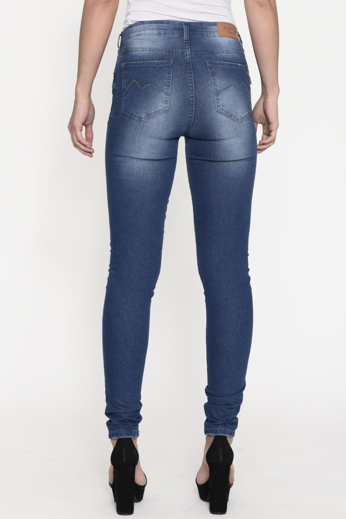 CALÇA JEANS SUPER SKINNY C3 BLUE WASH
