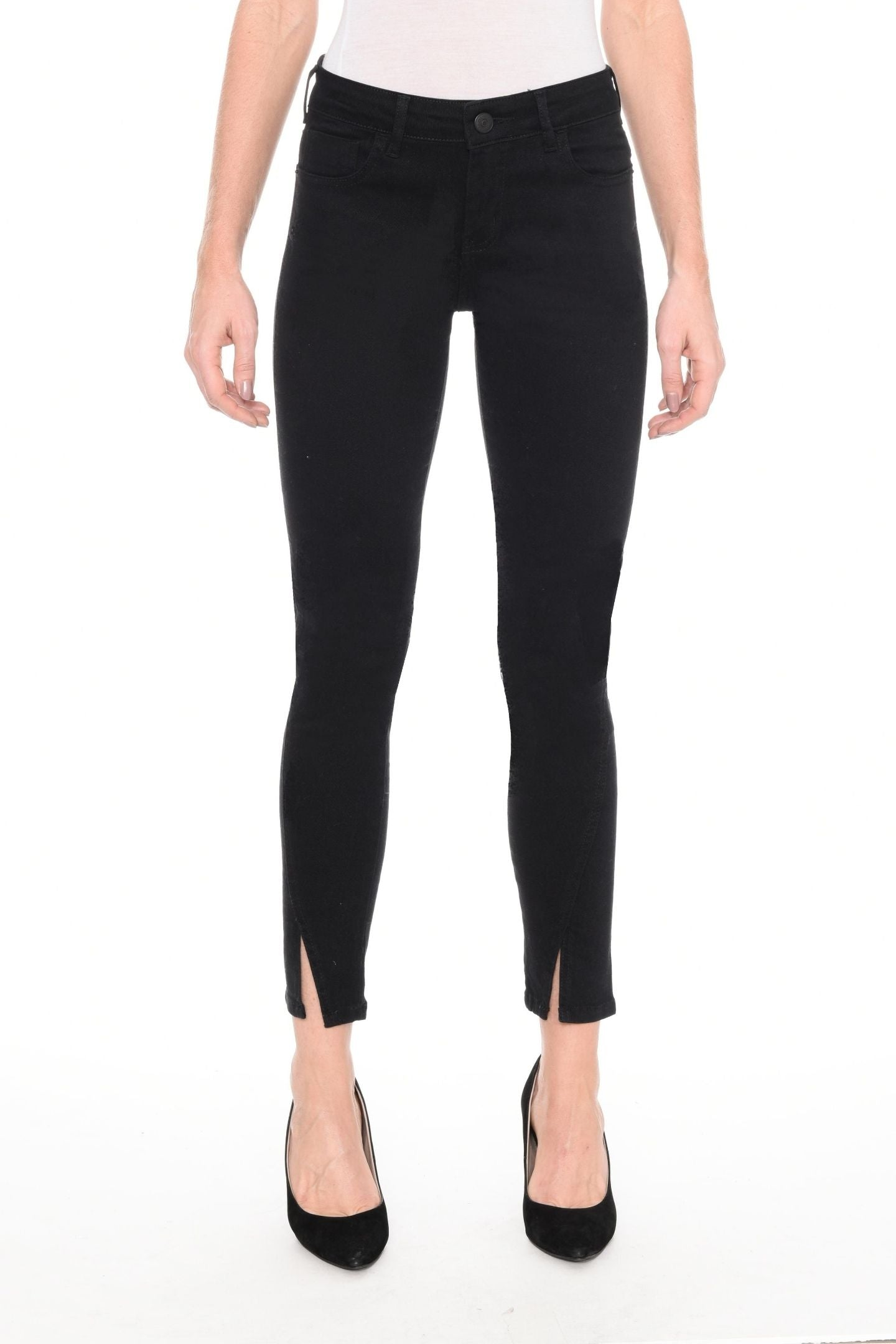 CALÇA JEANS SUPER SKINNY C3 BLACK DENIM