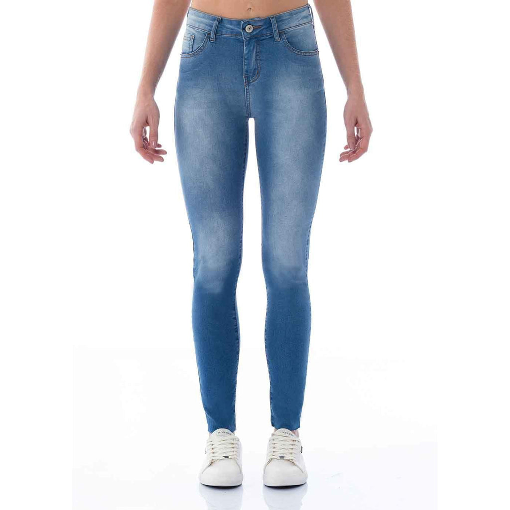 CALÇA JEANS SUPER SKINNY C3 LIGHT BLUE