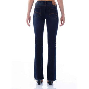 CALÇA JEANS BOOT CUT C2 DARK BLUE