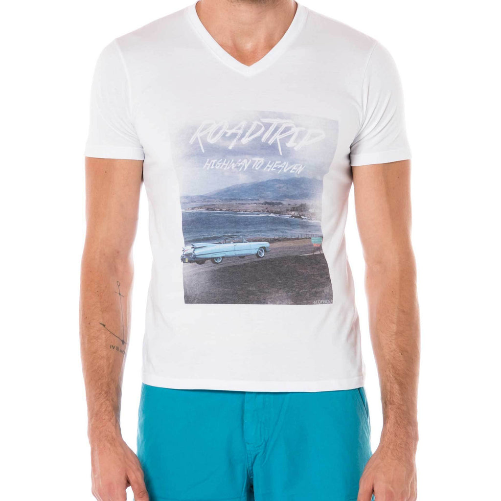 CAMISETA S M/C GOLA V SUBLIM HIGHWAY