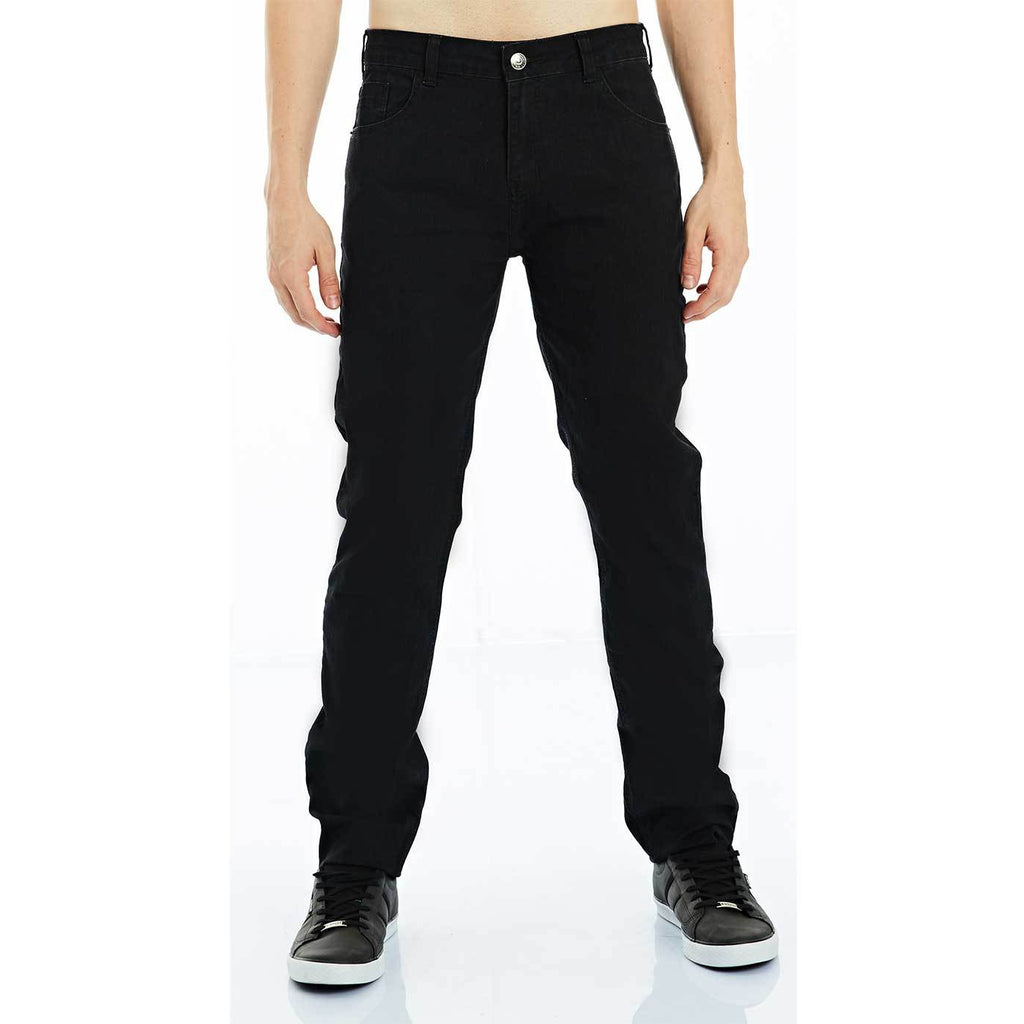 CALÇA JEANS COOL FIT BLACK DENIM AMACIADO