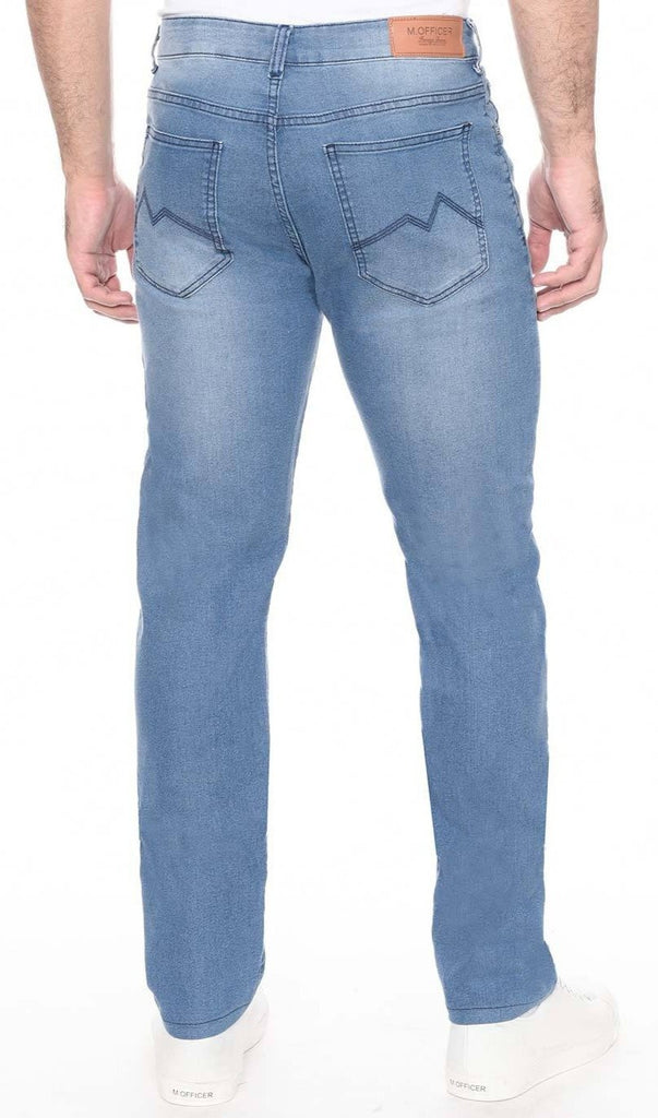 CALÇA JEANS SLIM LIGHT BLUE