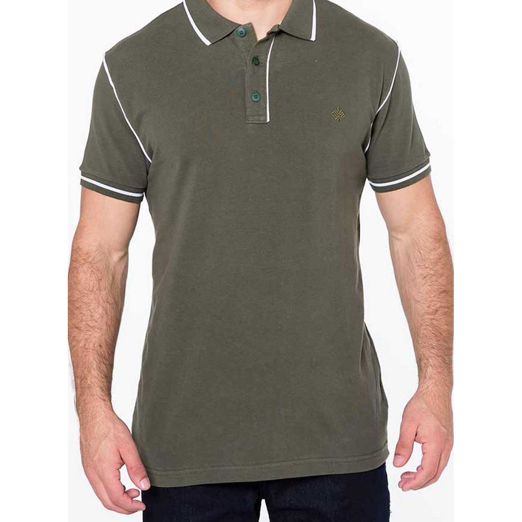 Polo Slim Piquet com Vivos